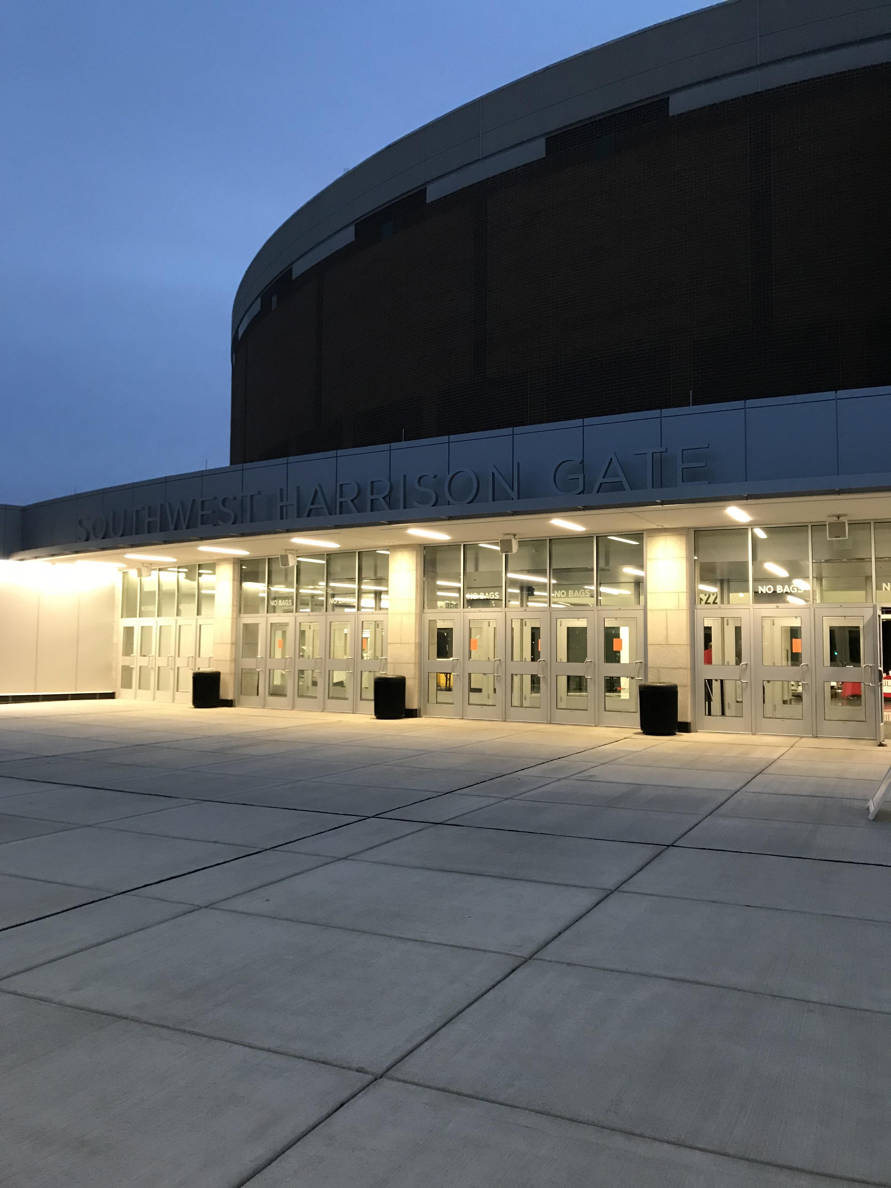 Breslin Center at daybreak